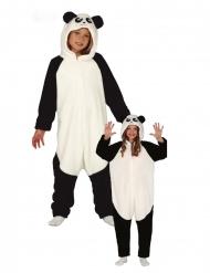 Panda kostume heldragt - barn
