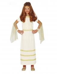 Romersk kostume hvid - pige