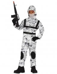 Arktisk soldat kostume - barn