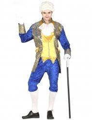 Markise kostume blå - mand