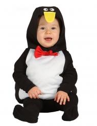 Pingvin kostume - baby