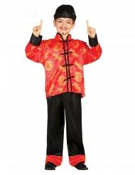 Traditionelt kinesisk kostume dreng