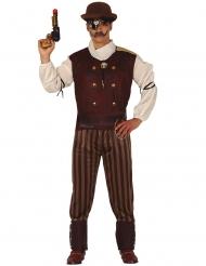 Steampunk kostume mand