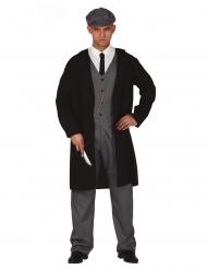 Hr. engelsk bandit kostume - mand