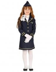Stewardesse kostume - barn