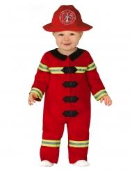 Lille brandmand kostume - baby