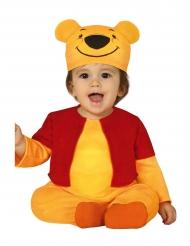 Lille gul bjørn kostume - baby