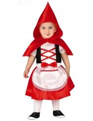 Rødhætte kostume - baby