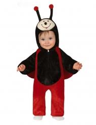 Mariehøne kostume - baby