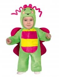 Sommerfugl kostume flerfarvet - baby