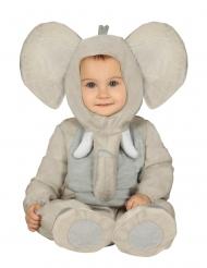 Elefant plys kostume - baby