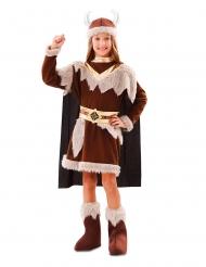 Vikinge kostume brun - pige