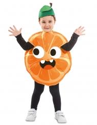 Lille appelsin kostume - barn