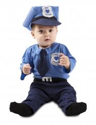 Politiagent kostume - baby