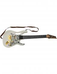 Elektrisk guitar hvid 67 cm.