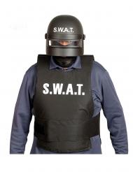 Politi kamp-hjelm SWAT - Voksen