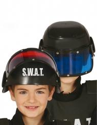 Hjelm med visir SWAT - barn