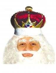 Konge krone rød og gul - voksen