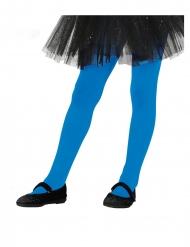 Strømpebukser blå - pige