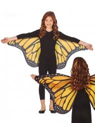 Sommerfuglevinger orange 110 x 50 cm - barn
