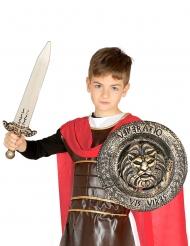 Sæt med sværd og skjold gladitator - barn