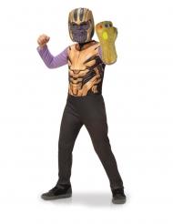Boks med klassisk Thanos kostume og handske - barn
