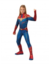 Klassisk Captain Marvel™ kostume - pige