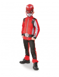 Klassisk rød Power Rangers™ kostume - barn