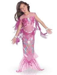 Fortryllende lyserød havfrue - pige