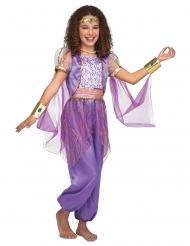 Oriental prinsesse kostume lilla - pige
