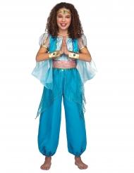 Orientalsk prinsesse kostume turkis - pige