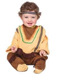 Indianer kostume med pandebånd - baby