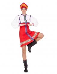 Traditionel russisk danserinde - kvinde