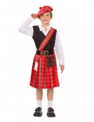 Lille skotte kostume - dreng