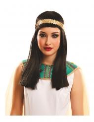 Lang egyptisk paryk - voksen