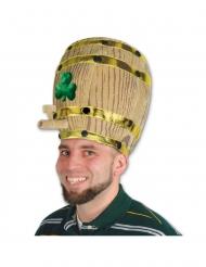 ølfad hat med trekløver - voksen