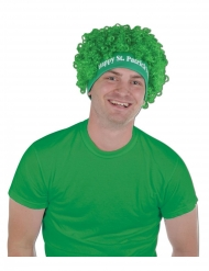 Grøn Saint Patrick Afro paryk