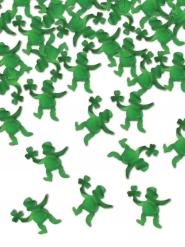 Leprechaun konfetti grøn 42 g