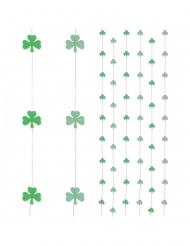 6 Ophæng til gardiner trekløver 180 cm