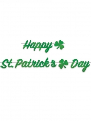 Happy St Patricks Day Guirlande 2m