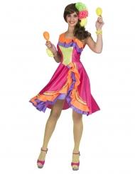Rumba danserinde kjole - kvinde