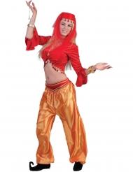 Rød danserinde top - rød