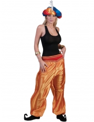 Guldfarvet bukser danser - kvinde