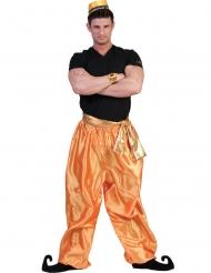 Guldfarvet bukser danser - mand