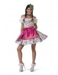 Blomstret bayersk kostume