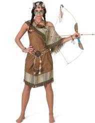 Luksus indianer kjole- kvinde