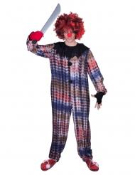Skræmmende klovn kostume - voksen
