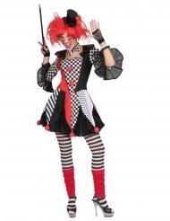Harlekin kostume - kvinde