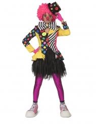 Den farveskøre klovn - kvinde