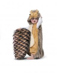 Pindsvin kostume - baby